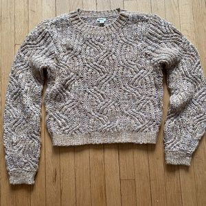 Garage crop sweater